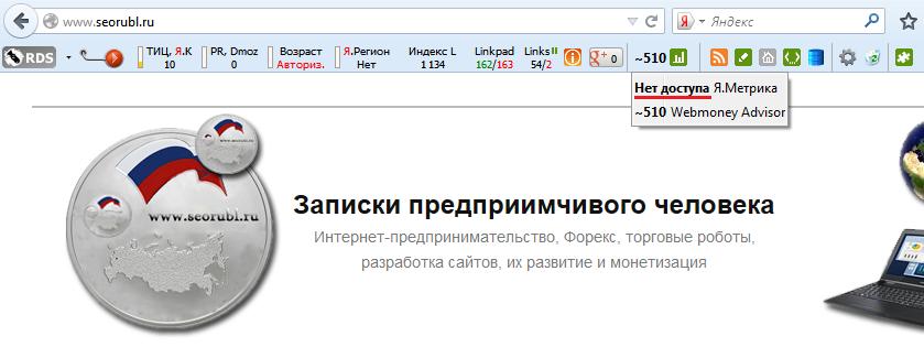 Как закрыть доступ к данным Яндекс Метрики