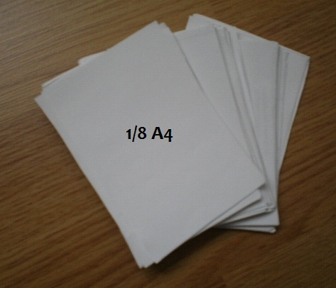 подготовленные для модулей листы