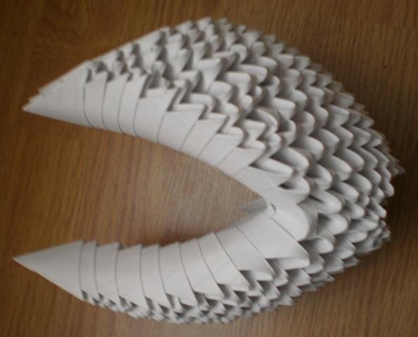 внутренние крылья лебедя