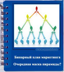 бинарный маркетинг план